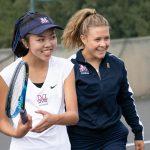 Girls Varsity Tennis beats Mayfield 10 – 8