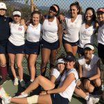 1st Rd. CIF – Girls Varsity Tennis beats Providence 15-3
