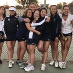 CIF Quarterfinals – Girls Varsity Tennis beats Northview 15-3
