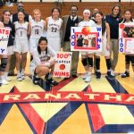 Lady Minutemen cruise to first round CIFSS 4AA Playoff victory 69-23, Coach Smalley's 100th career win