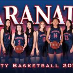 Lady Minutemen put up a good fight but exit the state playoffs with loss to Santa Fe in front of a jammed pack spirited Maranatha crowd 48-46