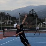 Boys Tennis v. San Gabriel Halted at 5-1 Due to Rain