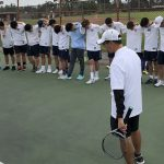 1st Rd. CIF Playoffs – Boys Tennis beats El Rancho 17-1