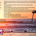*UPDATED* Summer Practice Schedules (6-22-19)