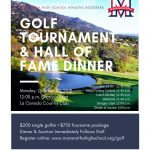 Sign Up Now For The Annual Maranatha Athletic Boosters Golf Tournament & Hall of Fame Dinner