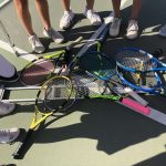 New-look Girls Tennis beats Heritage Christian 17-1