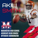Former NFL Quarterback Akili Smith Joins Football Staff at Maranatha
