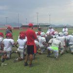 Varsity Football Practice