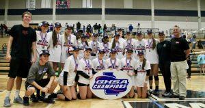 Volleyball State Championship Walton vs. Lassiter