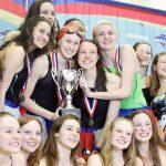 Girls Swim & Dive Wins State Championship