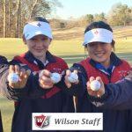 Lady Raider Golf  Thanks its Sponsor WILSON STAFF