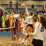 Walton Volleyball Celebrates Youth Night With A Win Against Alpharetta