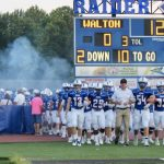 Walton High School Varsity Football beat Woodstock High School 42-37