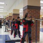 Coed Varsity Riflery beats Kennesaw Mountain 1105 – 1087