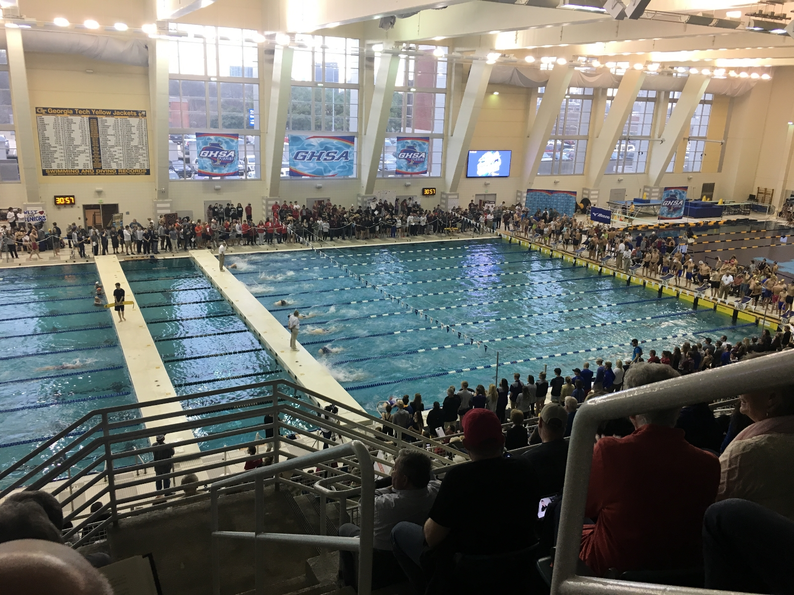Swim & Dive Finishes Strong in State Meet