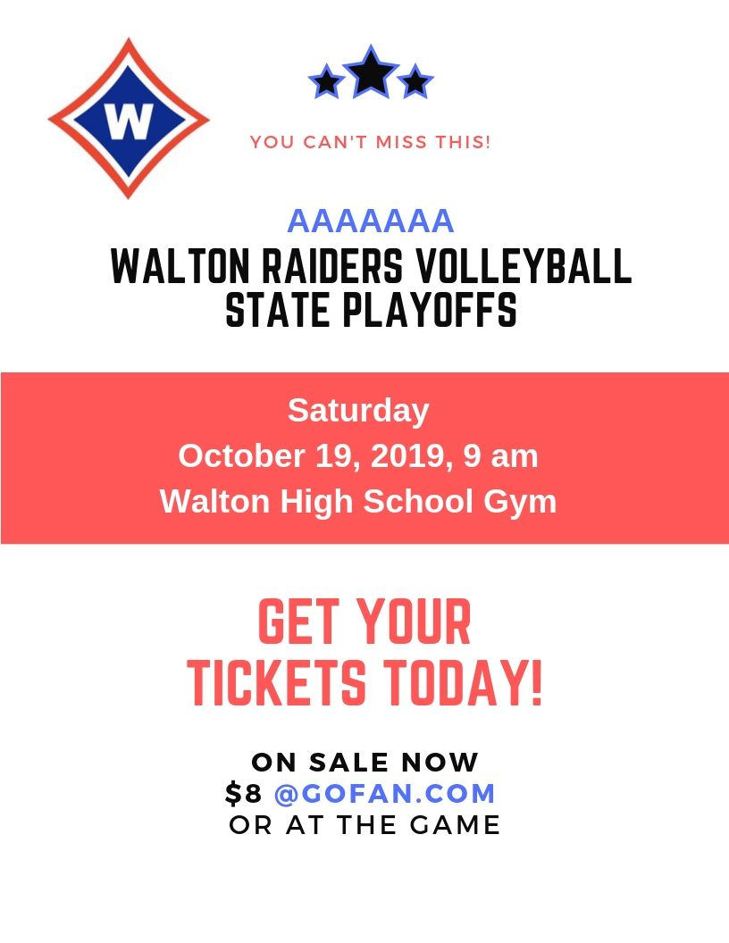 Volleyball – State Playoffs
