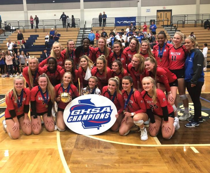 Lady Raider Volleyball Finishes as State Champions