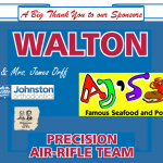 AIR RIFLE updates – Walton remains in 1st place – Area 9 standings