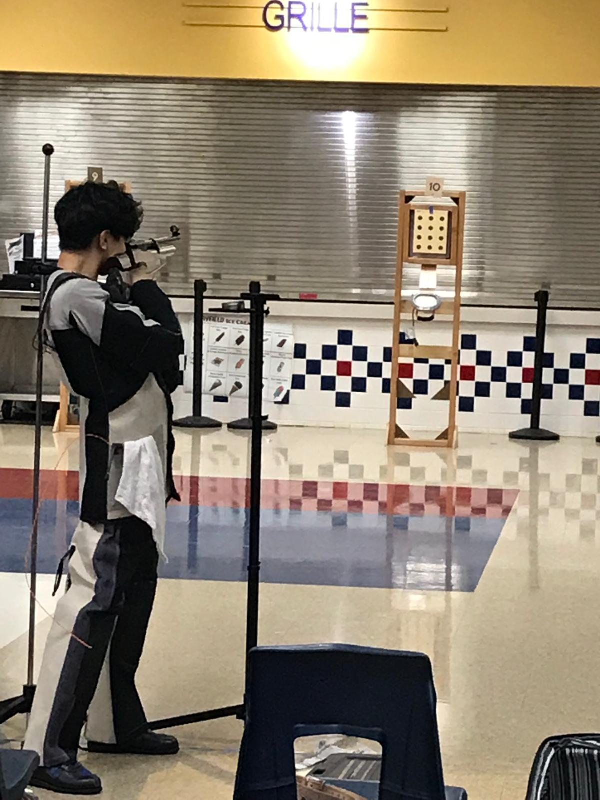 Walton Air Rifle Team Beats Campbell in Season Opener