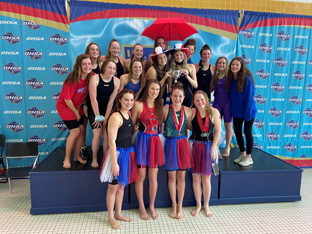 Swim & Dive Finishes Strong at State Meet