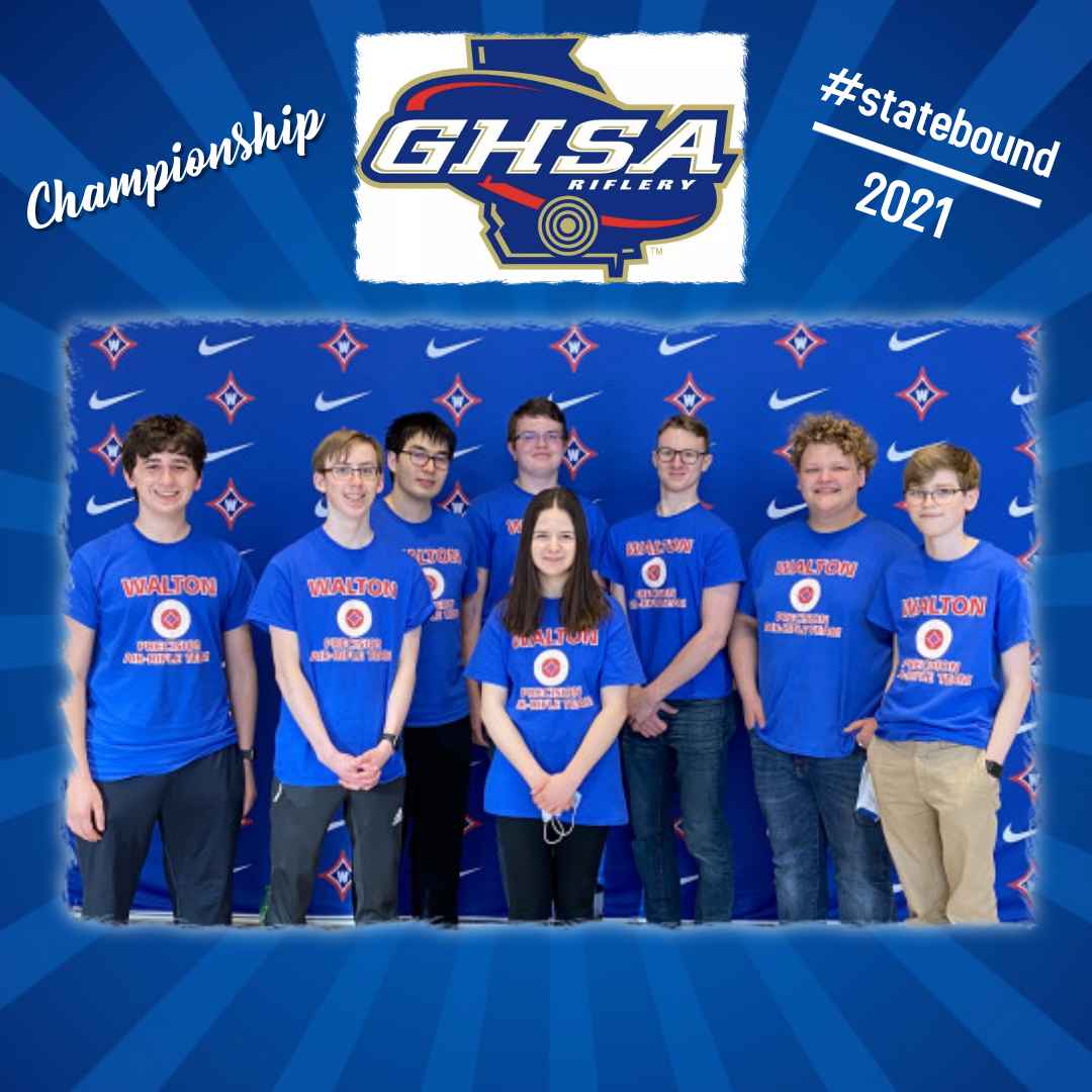 WALTON Air Rifle Team is going to the State Championship!!!!!