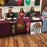 NAHS Student-Athletes Ink College Commitments