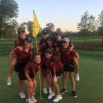 New Albany High School Girls Varsity Golf finishes 1st place