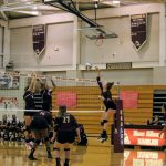 JV Volleyball vs Canal Winchester 10/3/2017