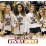 Volleyball Senior Night 10/3/2017