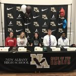 Signing Day for NAHS Student-Athletes