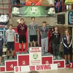 Noah Duperre Places 2nd in Diving at State Championship