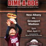 "Baseball ""Dime-A-Dog"" Night"