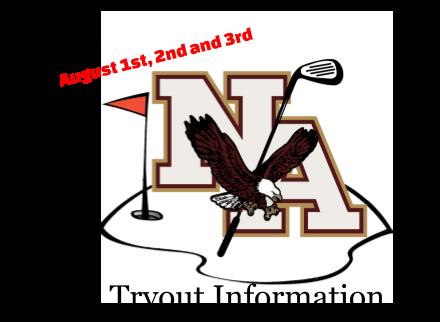 Boys Golf Tryout Information