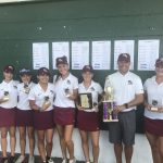 Girls Varsity Golf finishes 1st place at Lexington Elite Invitational