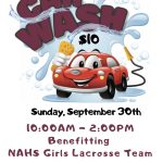 NAHS Girls Lacrosse Car Wash