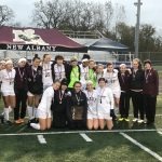 Eagles Edged by Pickerington North in Girls Soccer District Title Game