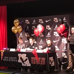 NAHS Football Student-Athletes Make College Commitments