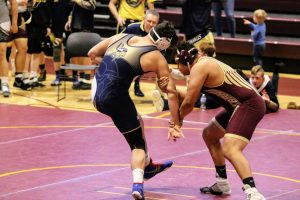 Photos: Varsity Wrestling 2/9/2019