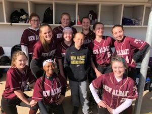 Photos: Middle School Softball