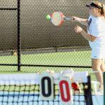 Photos: Girls MS Tennis vs Hilliard and Girls JV Tennis v Jerome 9/19/2019