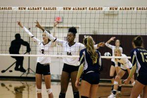 Photos: Girls Varsity Volleyball vs Teays Valley 10/14/2019