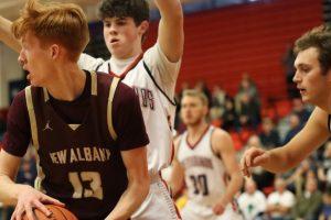 Photos: Varsity Boys Basketball at Grove City 2/11/2020