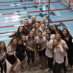 Girls Swim/Dive Wins District Championship