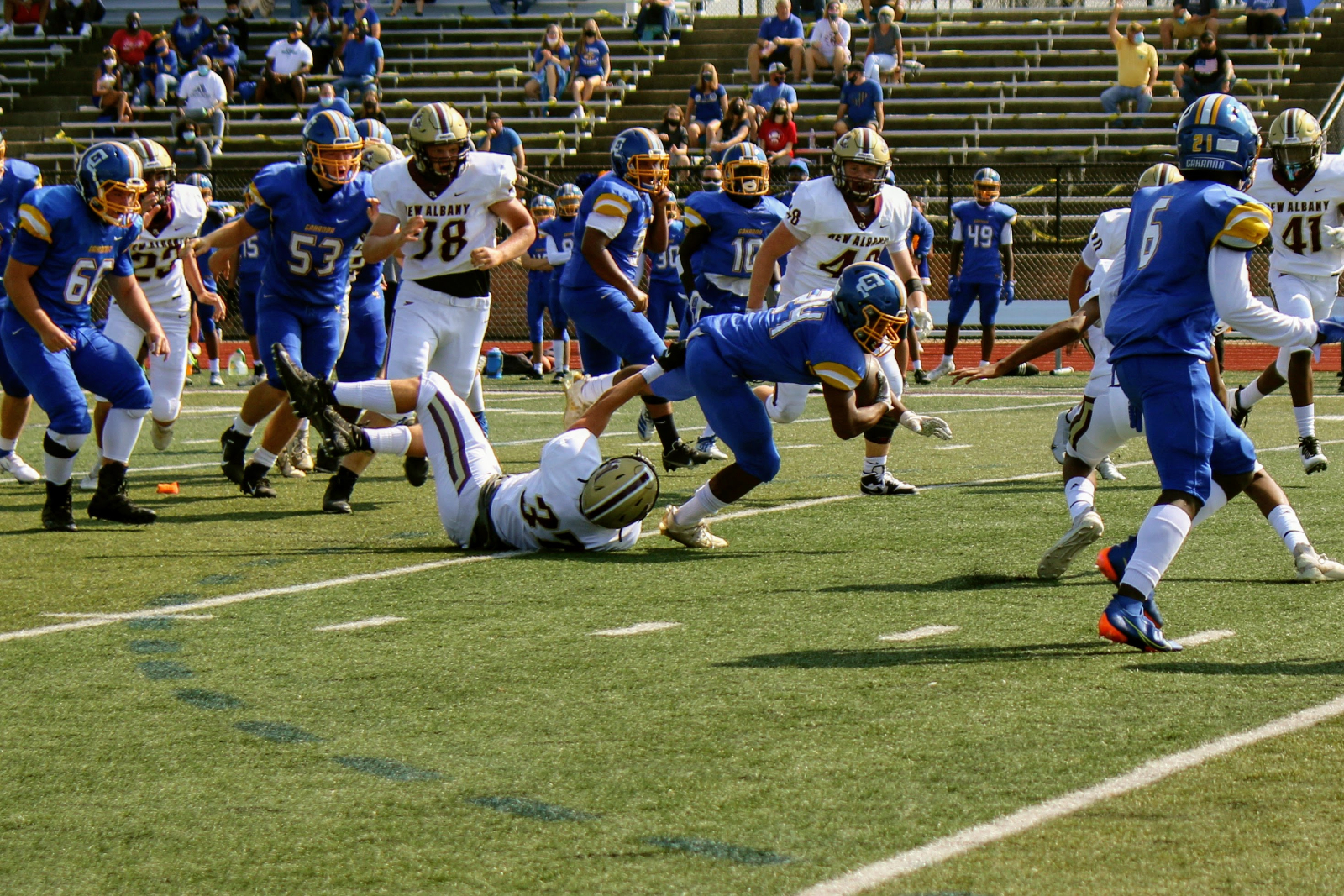 JV Football vs Gahanna Lincoln 9/12/2020