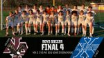 Boys Soccer on to Final 4