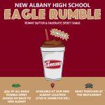 "Get Your ""Eagle Rumble"" Milkshake at Swensons"
