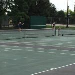 Grandview Heights High School Girls Varsity Tennis beat Bishop Hartley High School 3-2