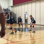 Grandview Heights Girls 7th Grade Volleyball beat Rosemore Middle School 2-0