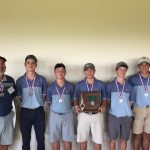 Boy's Finish 2nd at District Golf Tournament