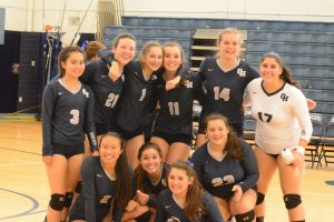 Volleyball Win Over Bexley